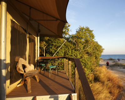 Safari Tent Style Accommodation at Cygnet Bay Pearl Farm