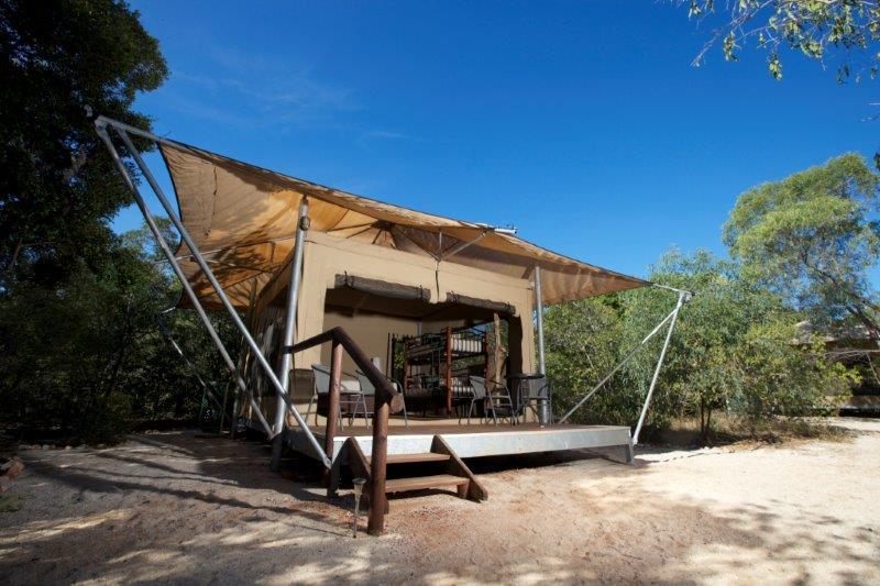 Family Safari Tent & Family Safari Tents - Cygnet Bay Pearl Farm